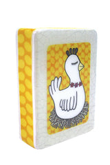 Mini Woodblock - Chicken & Chips