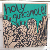 Holy Guacamole Ply Print - Green