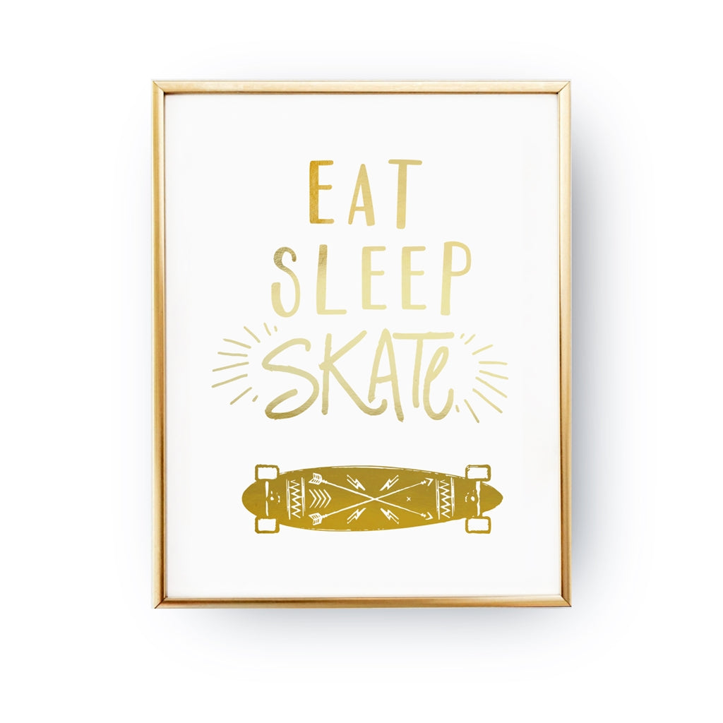 Eat Sleep Skate, Poster