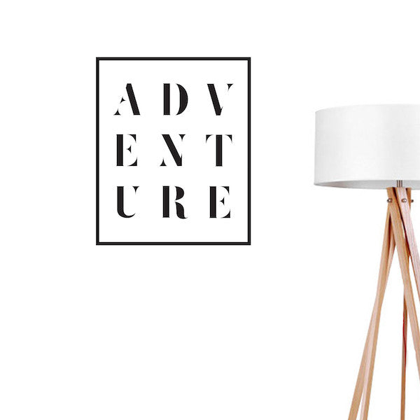 Adventure, Wall Decal