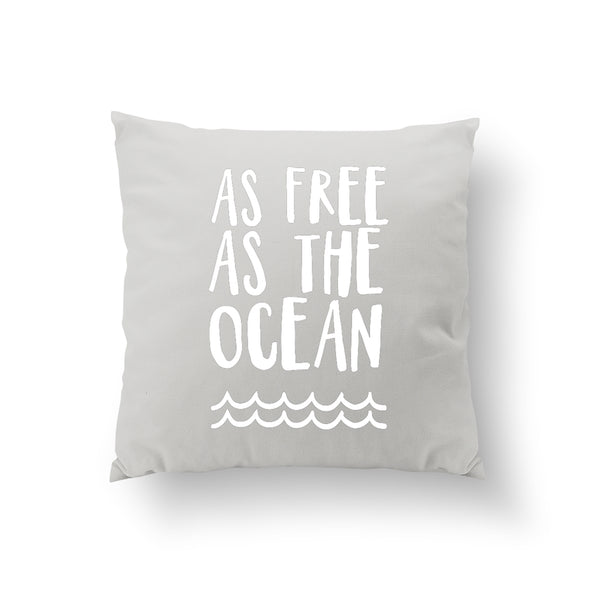 As Free As The Ocean, Pillow