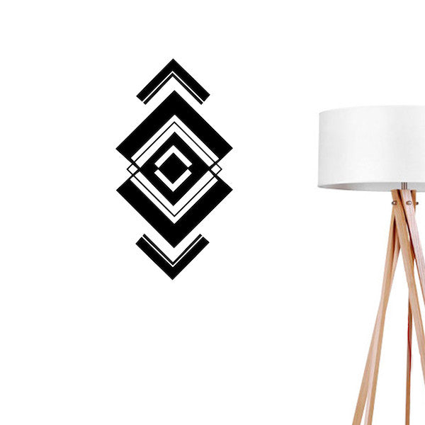 Aztec Shape, Wall Decal
