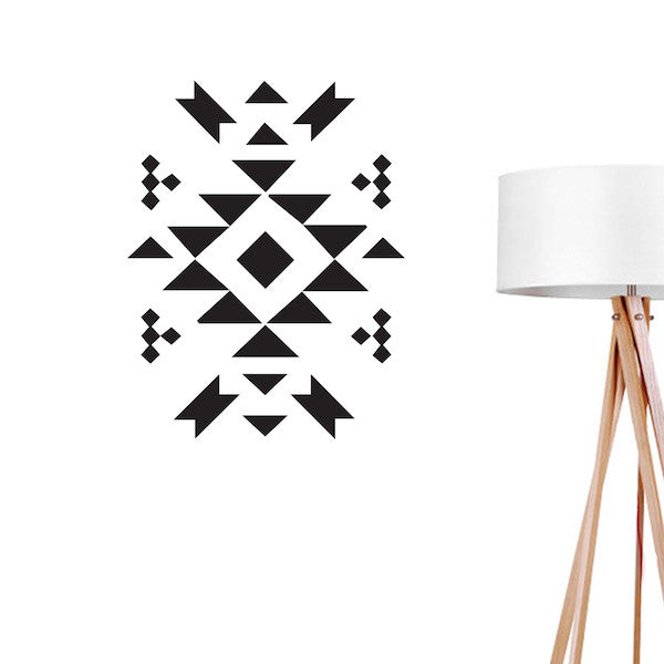 Aztec 3, Wall Decal