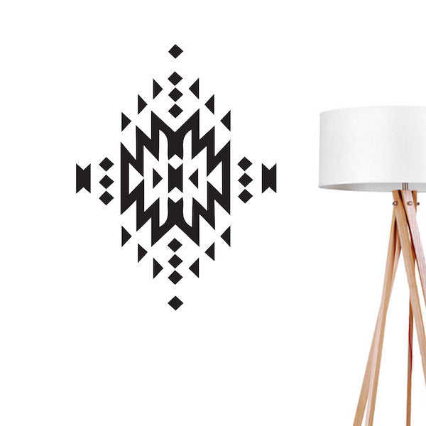 Aztec 2, Wall Decal