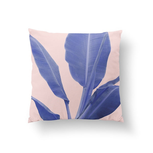 Banana Leaf Pink, Pillow