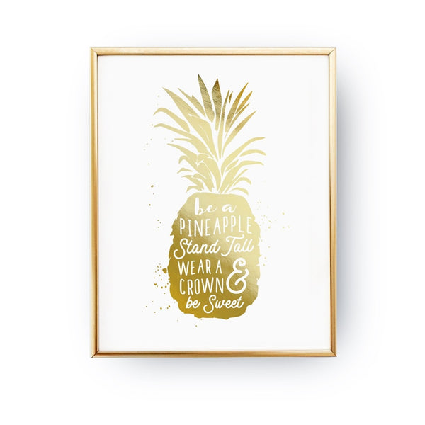 Be A Pineapple, Poster