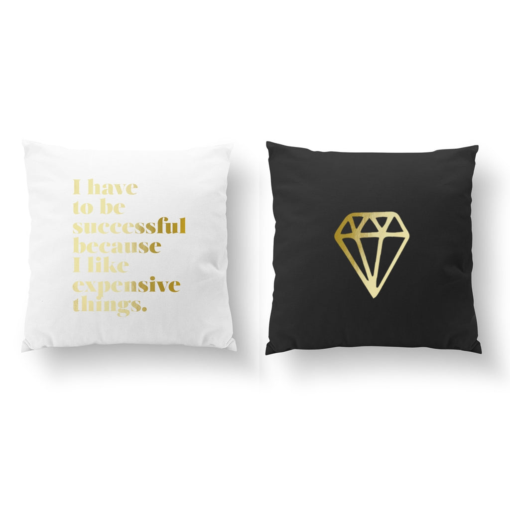 I Have To Be Successful, Diamond, Pillow