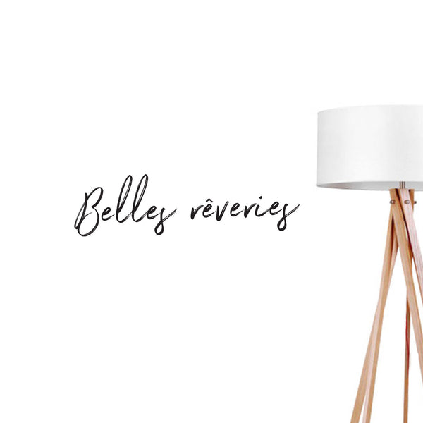 Belle Reveres, Wall Decal