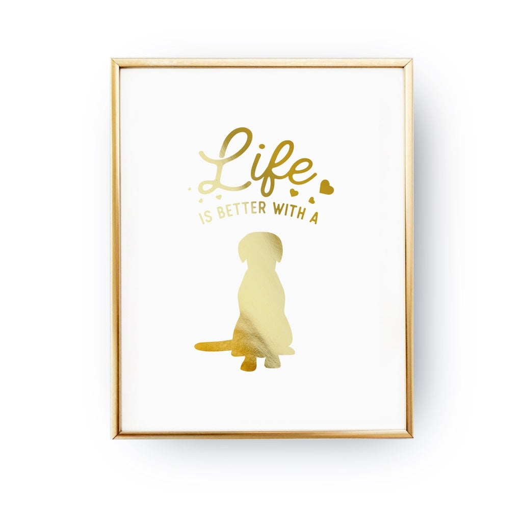 Life Is Better With A Dog, Poster