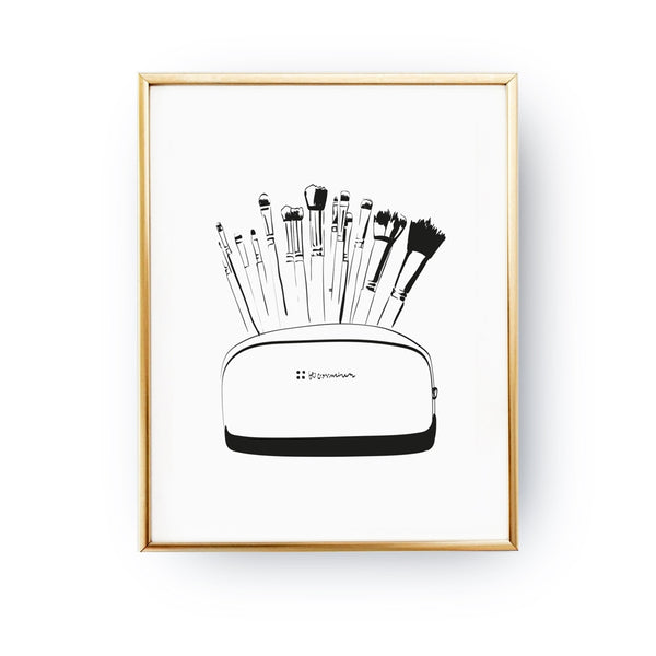 Brushes, Poster