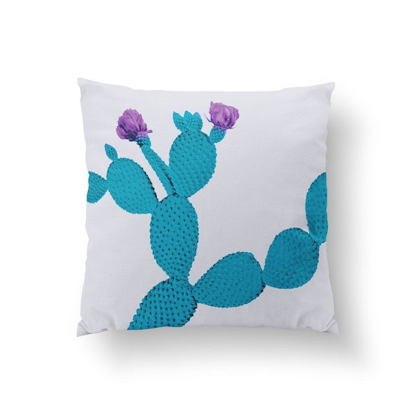 Cactus Mint Violet, Pillow