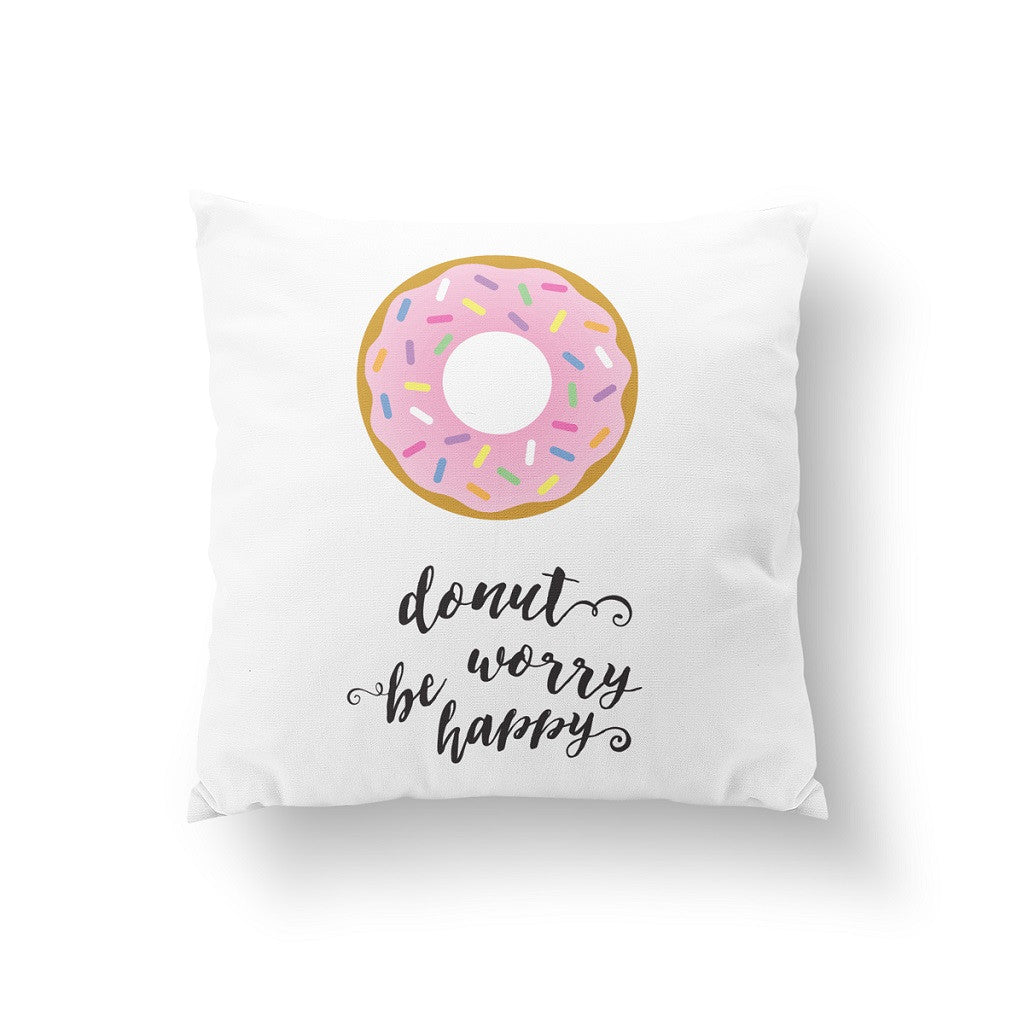 Donut worry be happy, Pillow