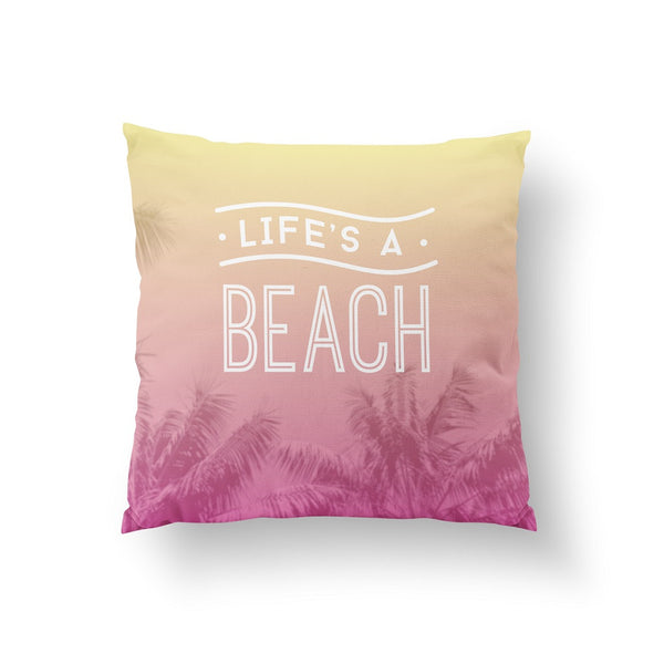Life's a beach, Pillow