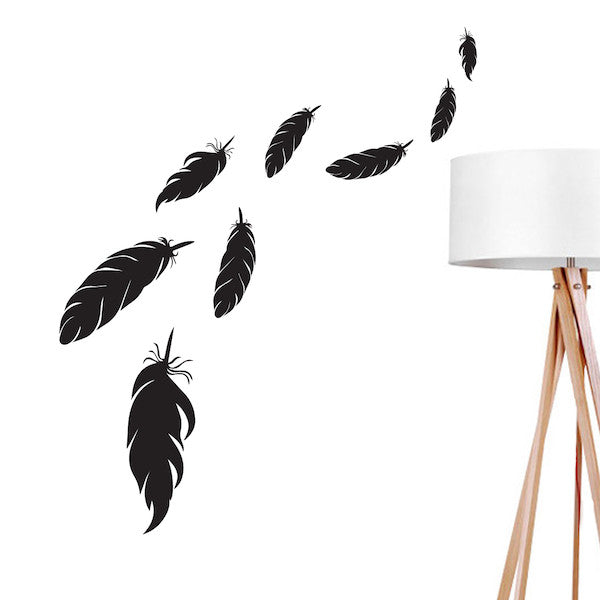 Feathers 2, Wall Decal