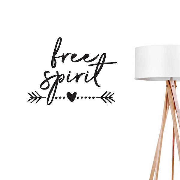 Free Spirit, Wall Decal