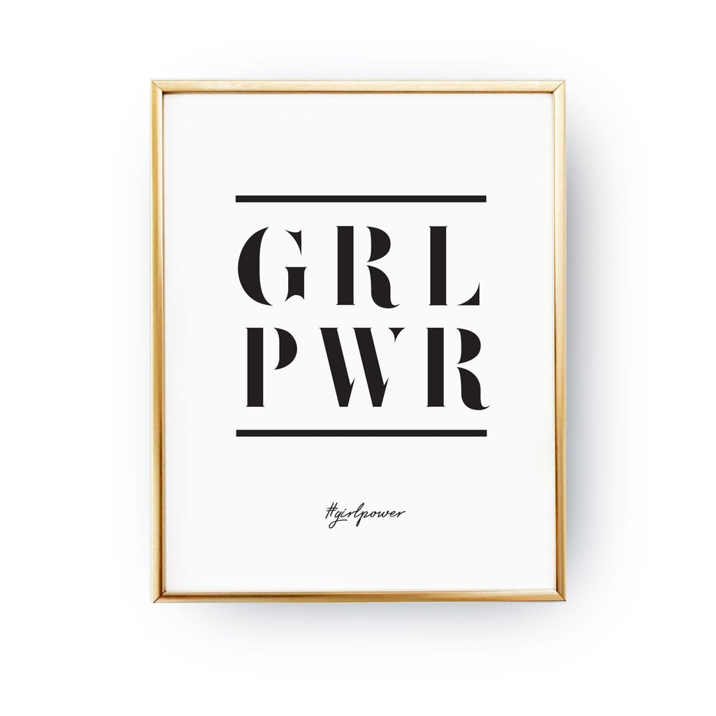 Girl power, Poster