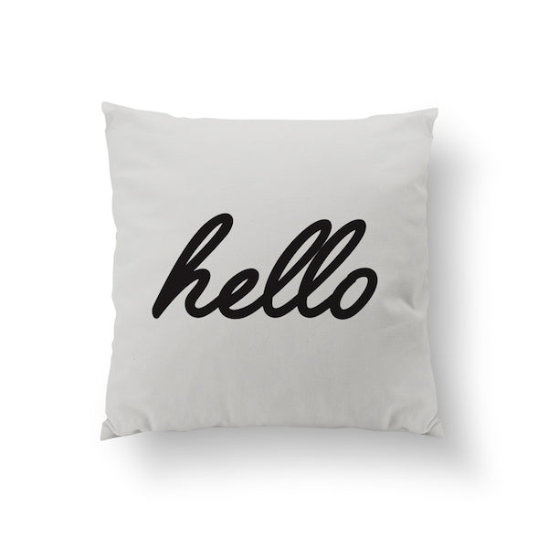 Hello, Pillow