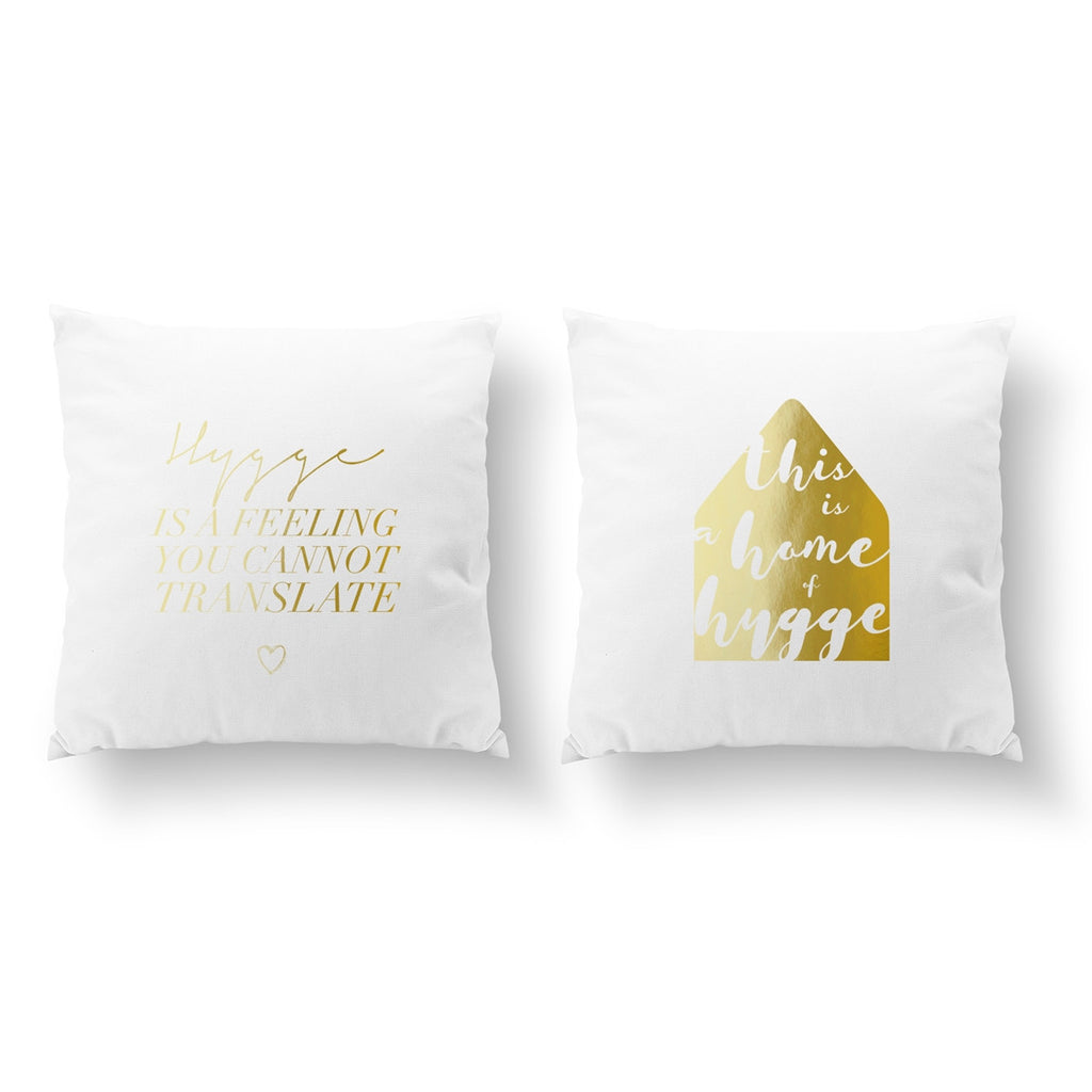 Hygge Is A Feeling, This Is A Home Of Hygge, Pillow