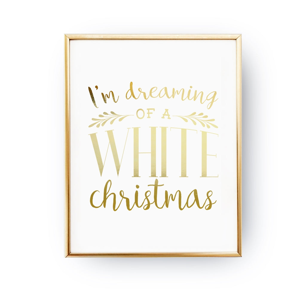 I'm Dreaming Of A White Christmas, Poster