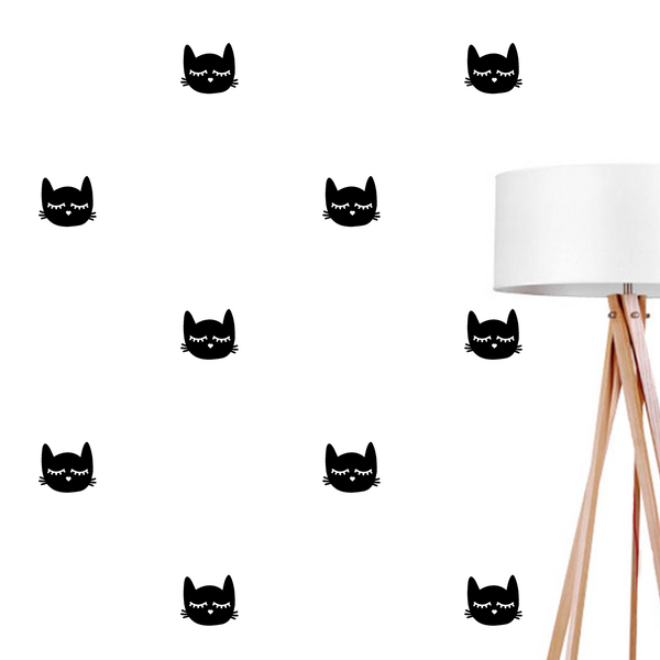 Kitty, Wall Decal