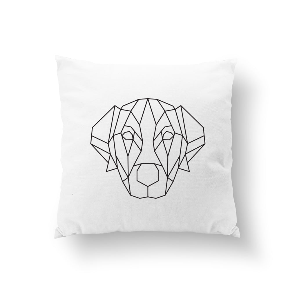Geometric Labrador, Pillow