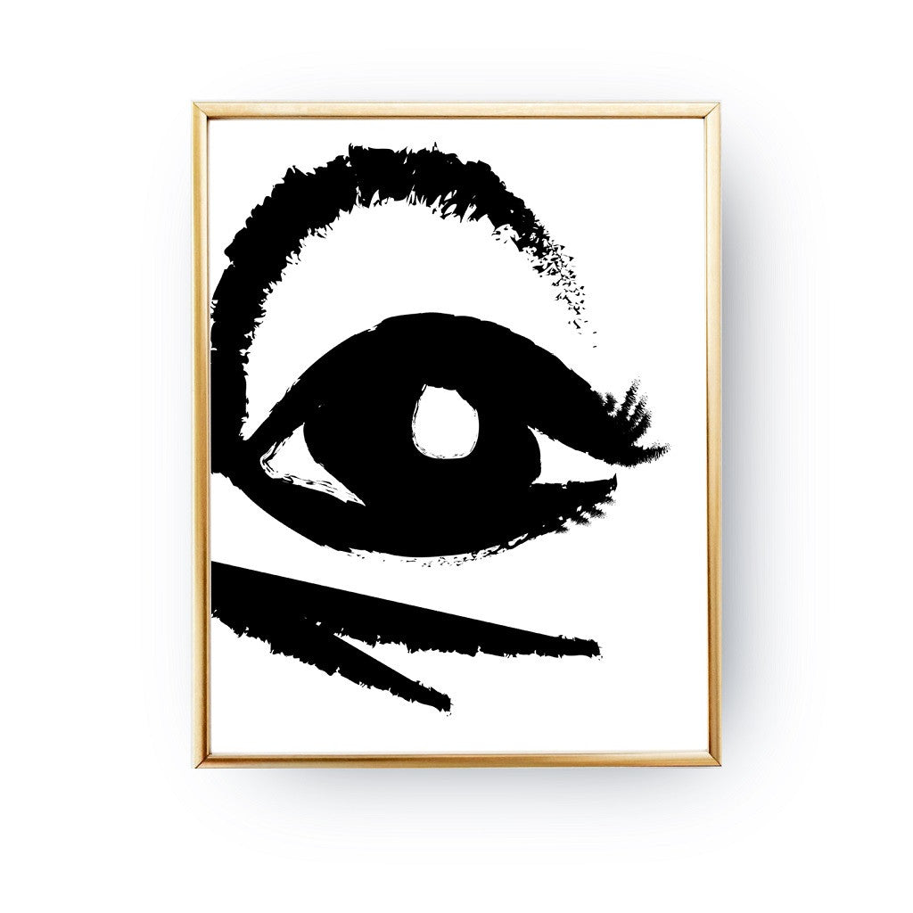 Abstract Eye, Poster