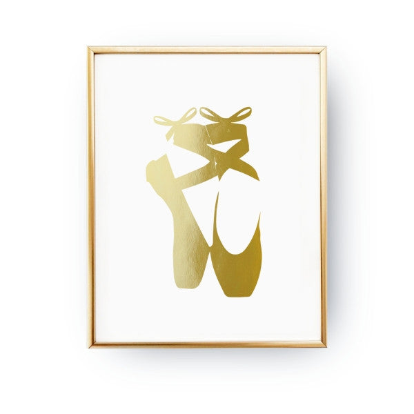 Ballet shoes, Poster