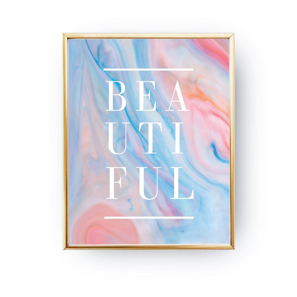 Beautiful Marble, Poster