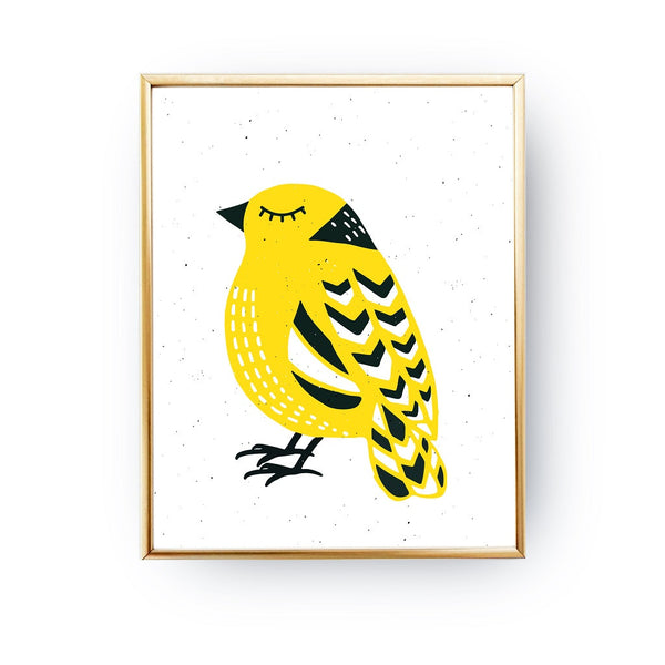 Bird Yellow, Poster