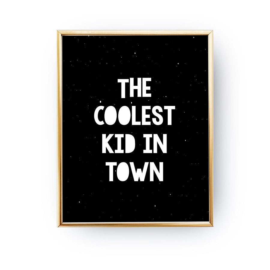 The coolest kid in town, Poster