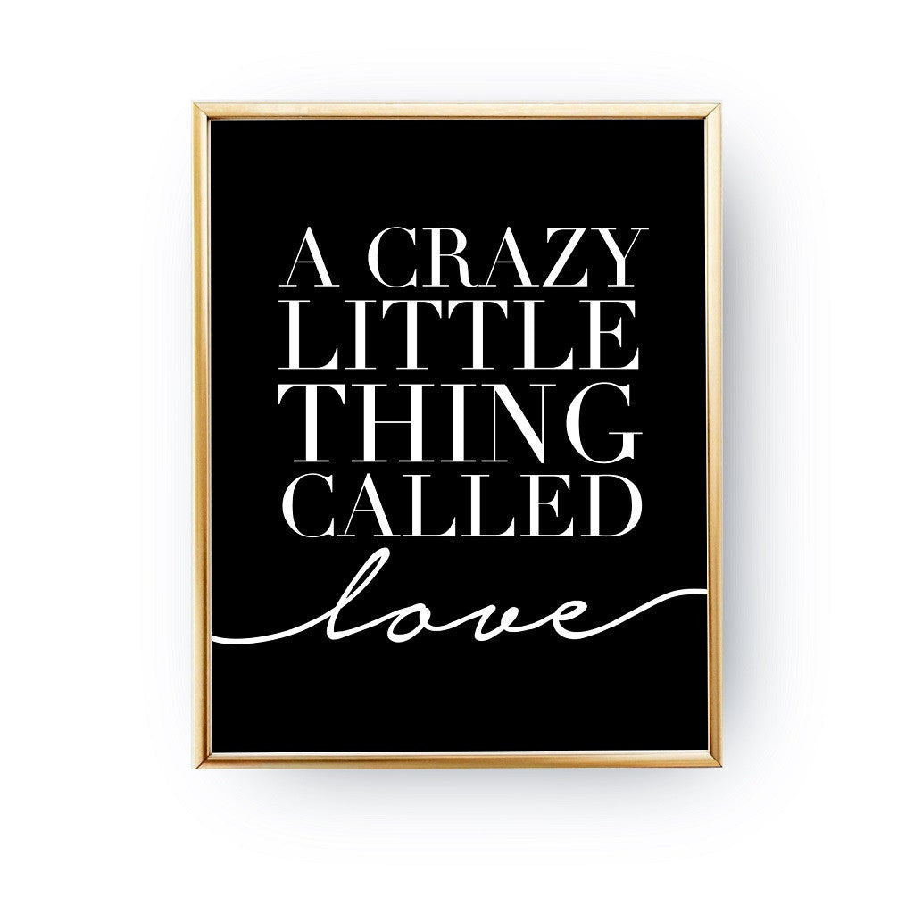 Crazy little things, Poster