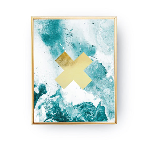 Cross Gold, Poster