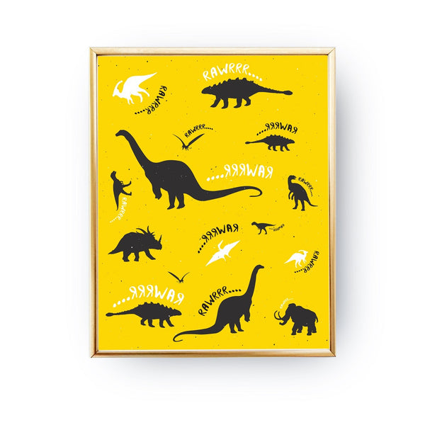 Dinosaurs, Poster