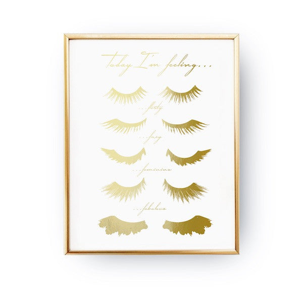 Feeling lashes, Poster
