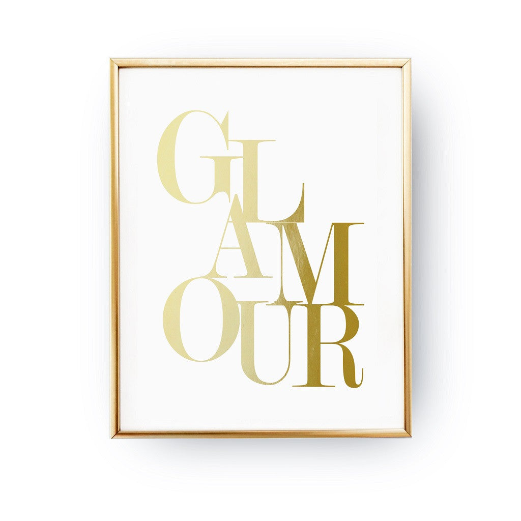 Glamour, Poster