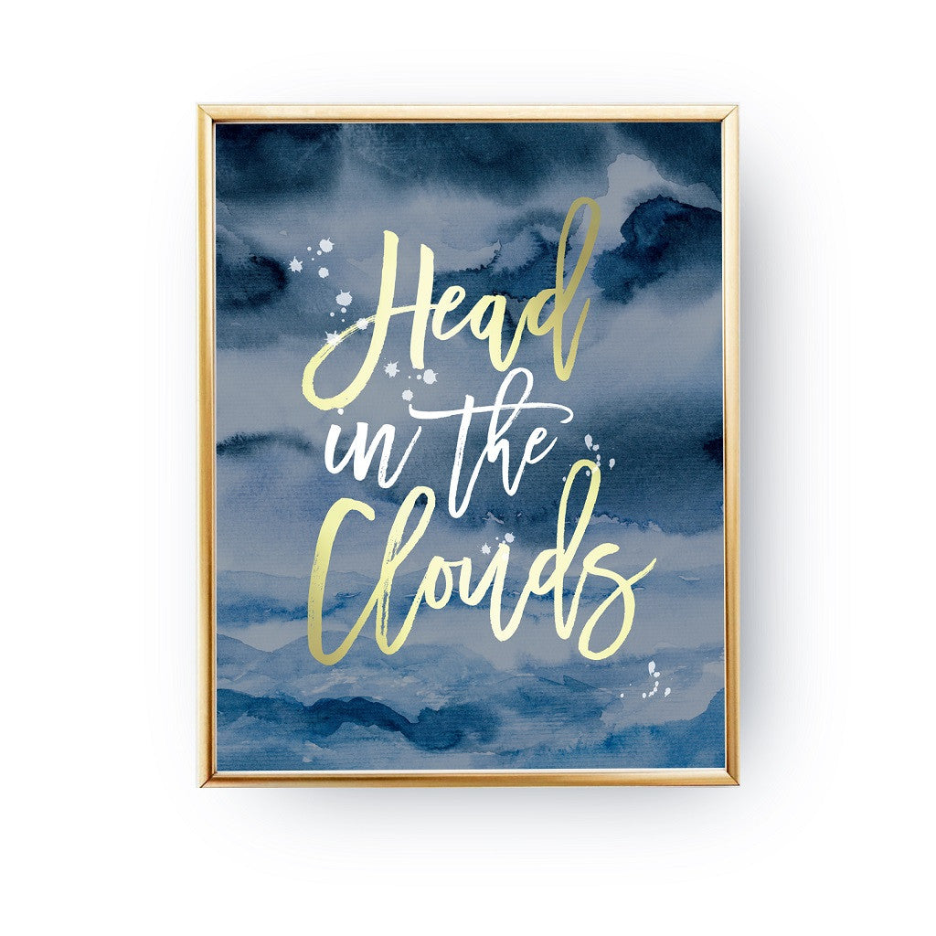 Head in the clouds, Poster
