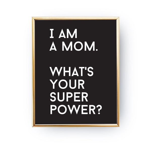 I am a mom, Poster