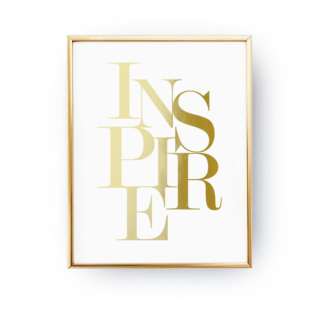 Inspire, Poster