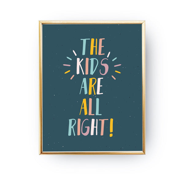 The kids are all right, Poster