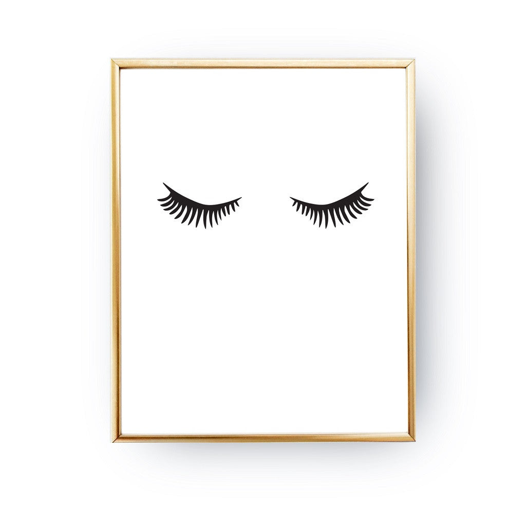 Lashes, Poster