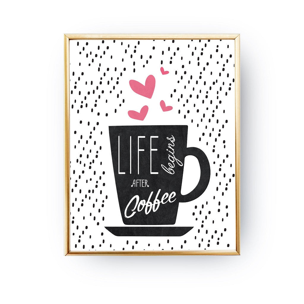 Beau Life Begins After Coffee, Poster