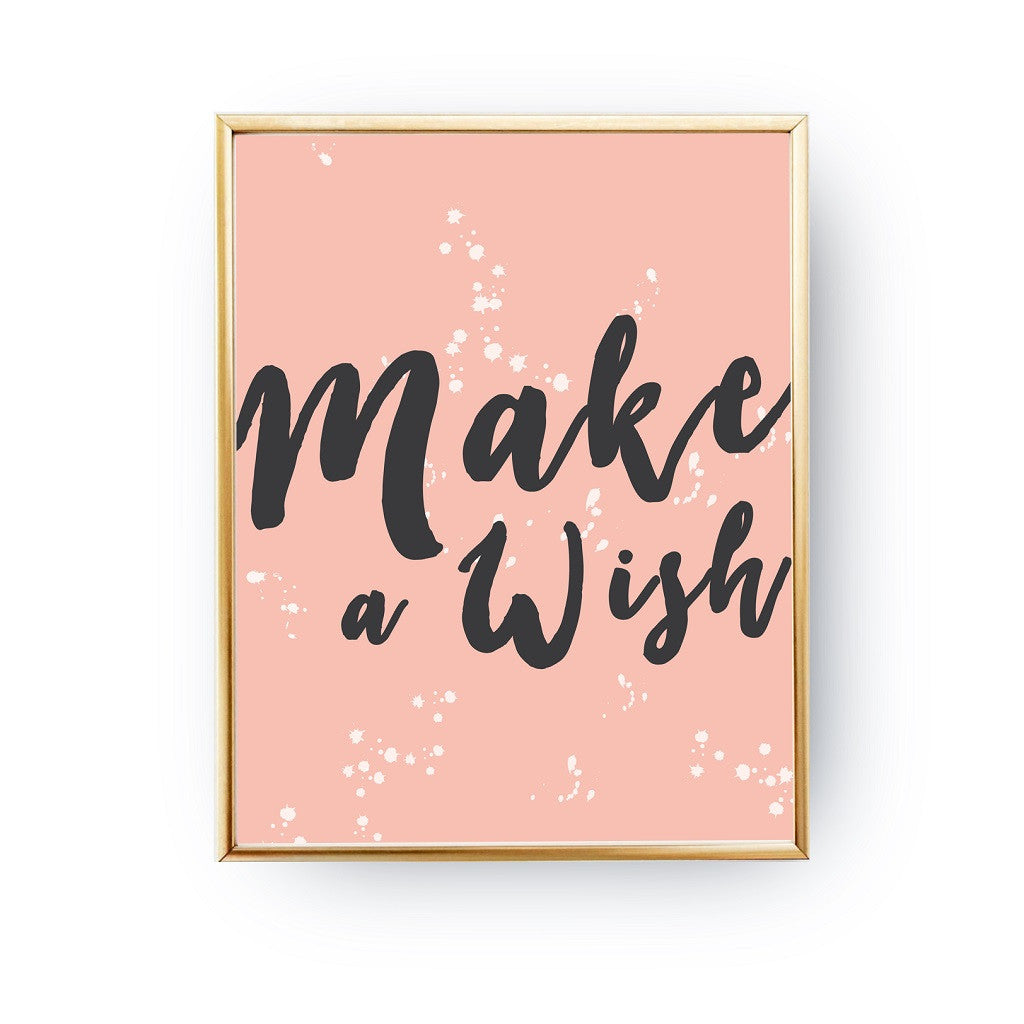 Make a wish, Poster