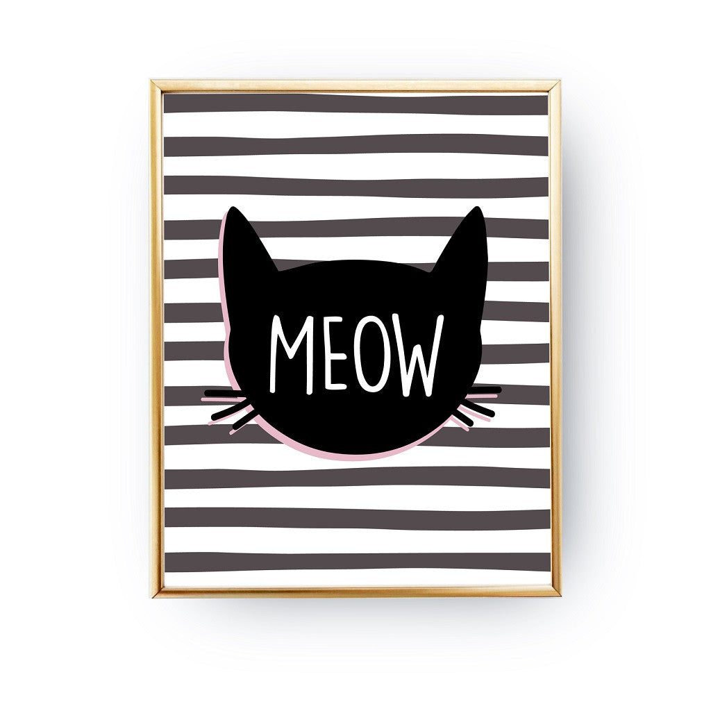 Meow, Poster