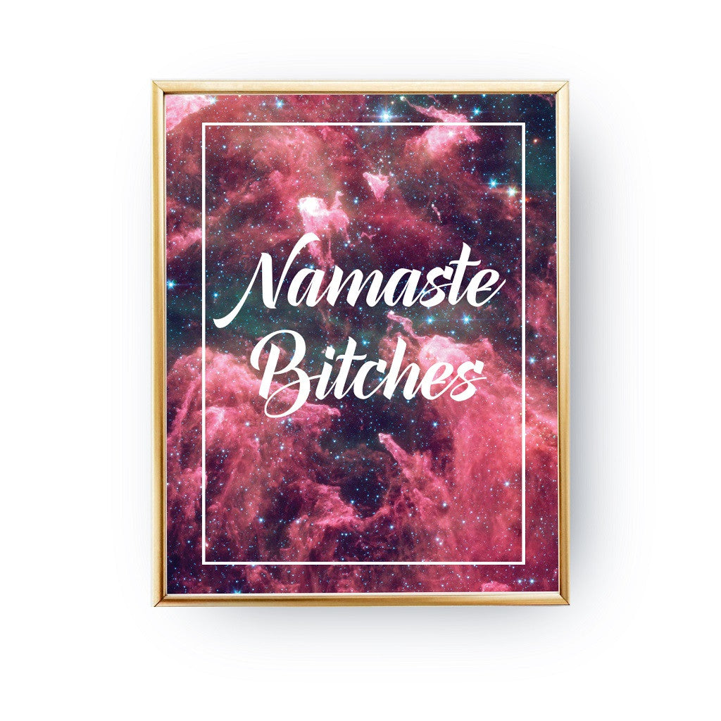 Namaste Bitches, Poster