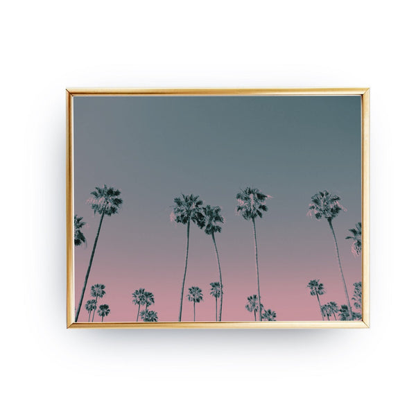 Palms ombre, Poster