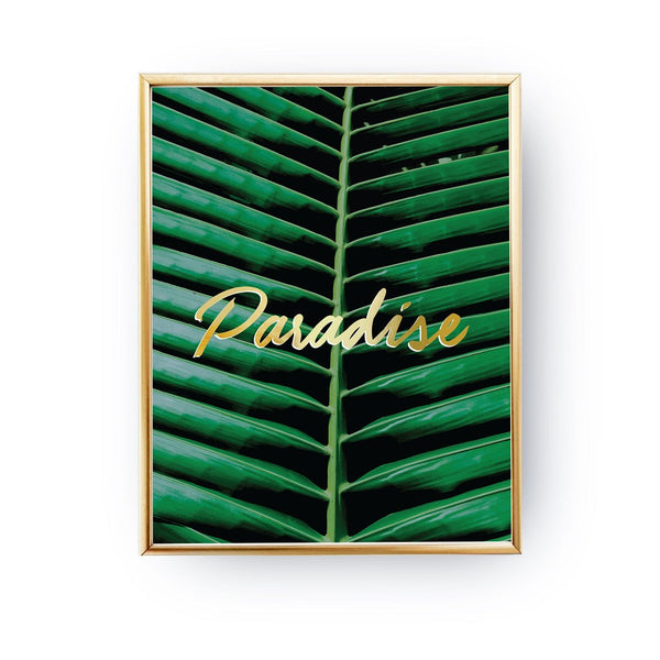 Paradise tropical, Poster