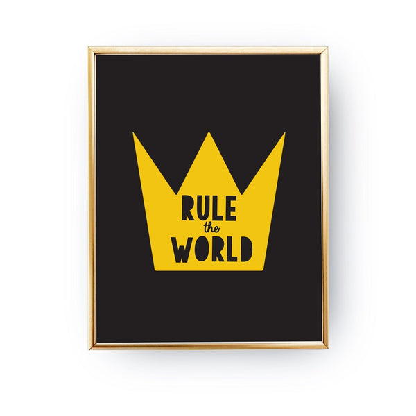 Rule the world Yellow, Poster