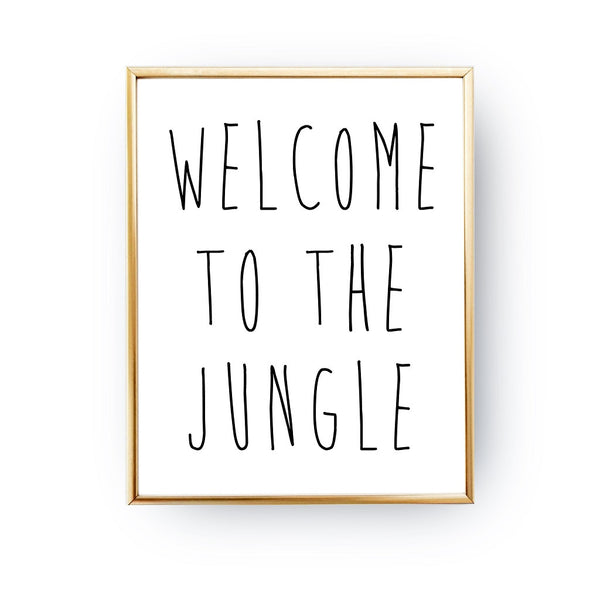 Welcome to the jungle, Poster