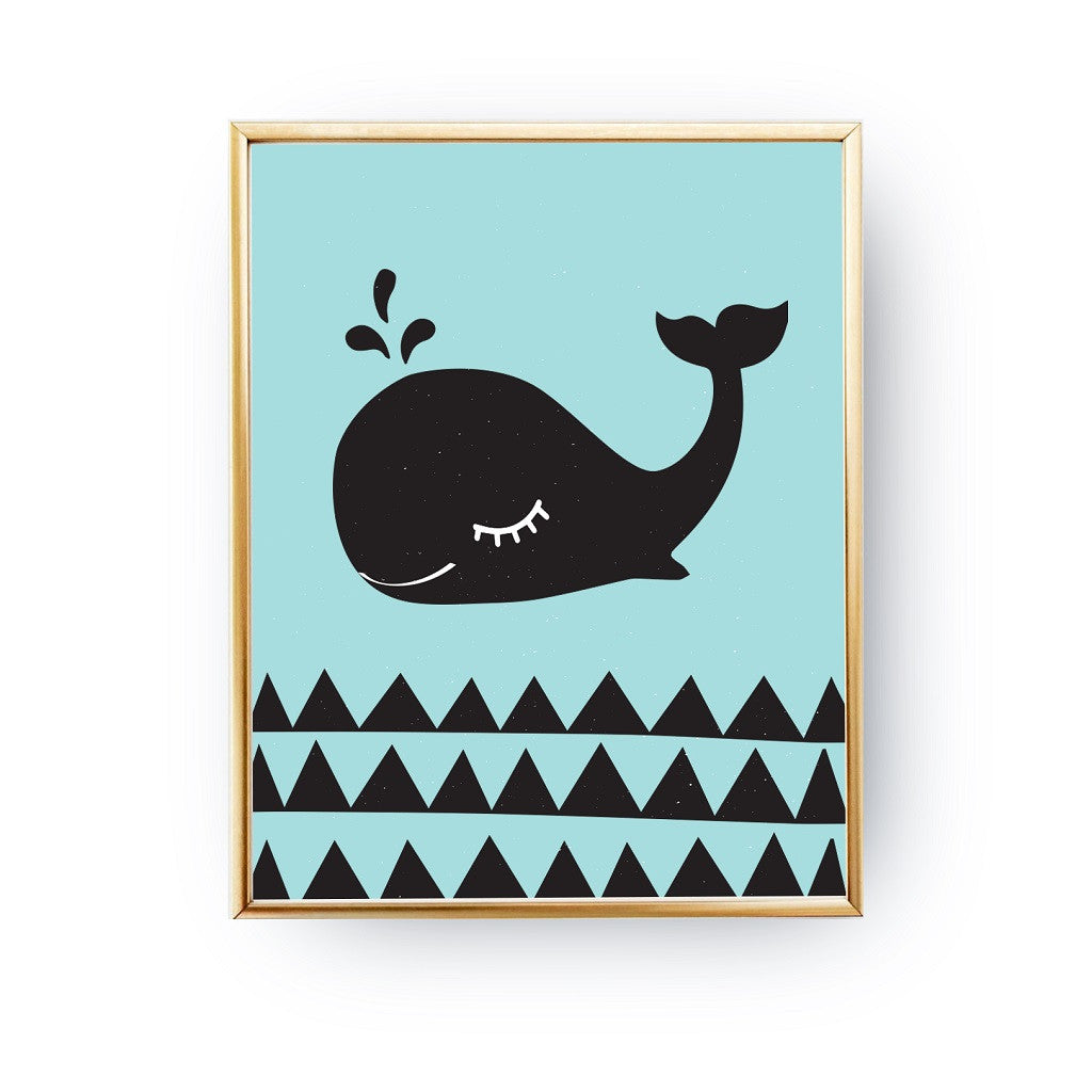 Whale, Poster