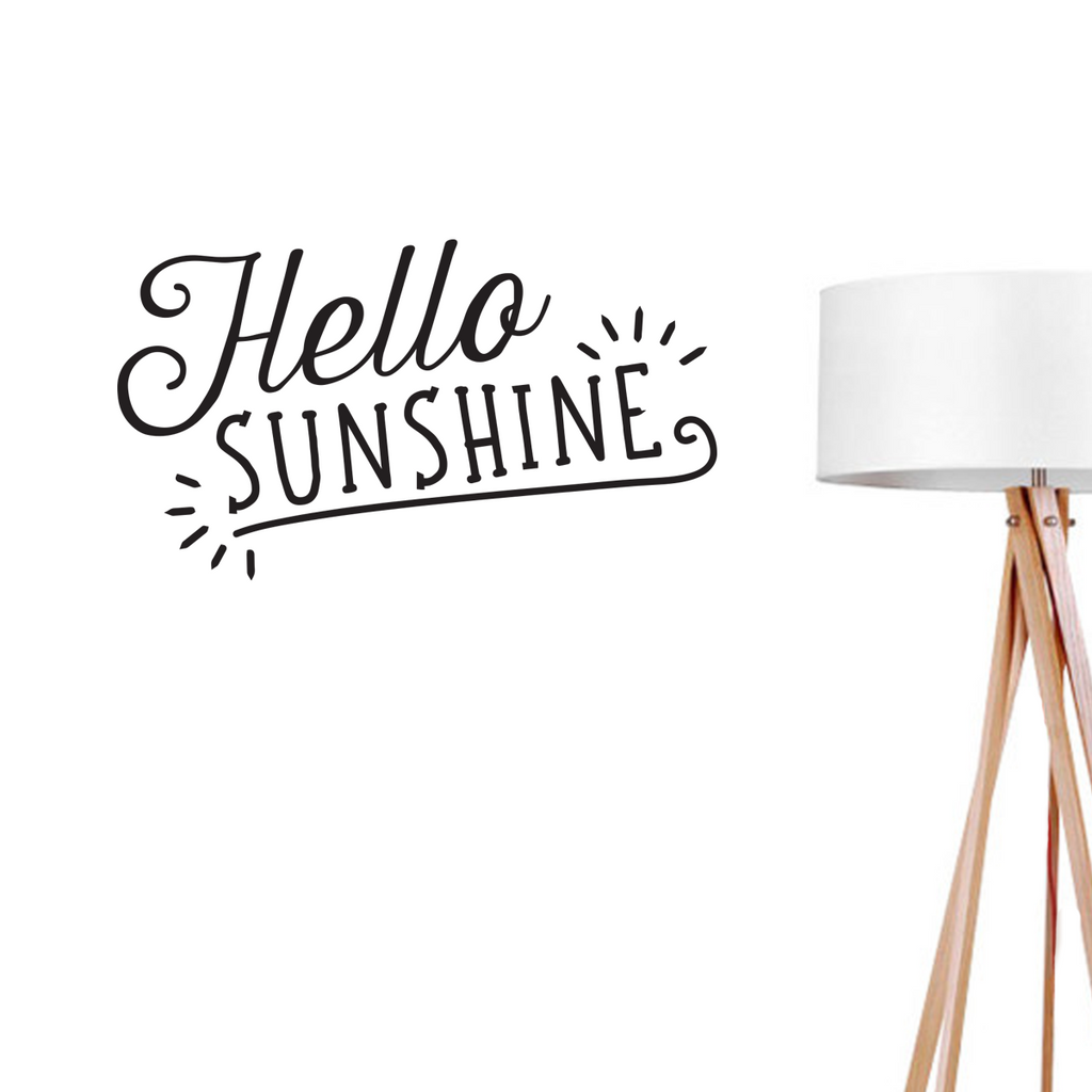 Hello Sunshine, Wall Decal